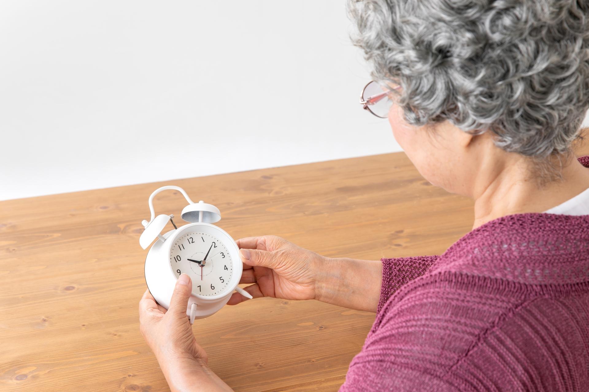 不眠症と高齢者 年をとると眠れなくなるの?